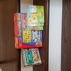 Puzzle lot for ages 3+